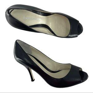 Enzo Angiolini Maylie Peep Toe Pump Heels Size 7.5